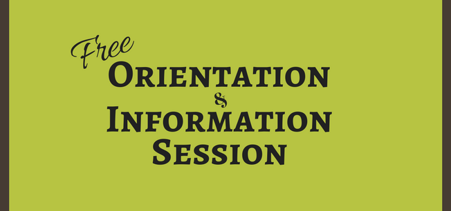 Orientation/Info Session